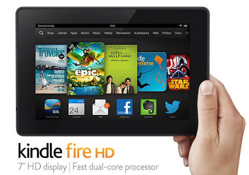 Kindle Fire HD 7inch Wi-fi Dual Core